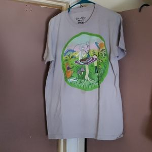 *PLEASE READ* MENS RICK & MORTY GRAPHIC TEE SZ M